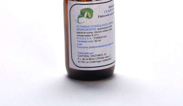 60 ML Extracto de cuajo líquido Cordero lechal